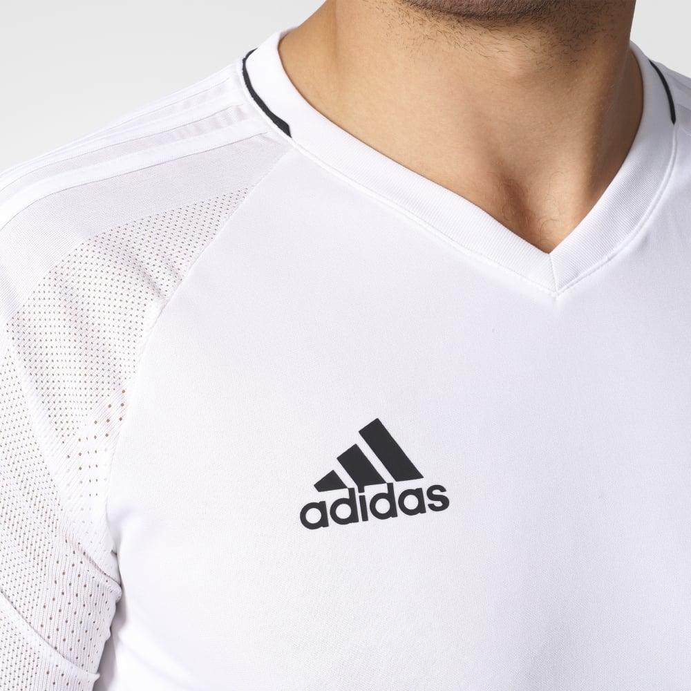 Adidas TIRO 17 TRAINING JERSEY WHITEBLACK