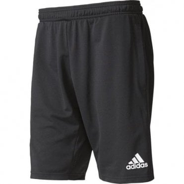 TIRO 17 TRAINING SHORTS BLACK/WHITE