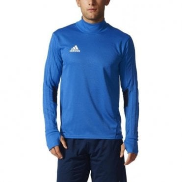 TIRO 17 TRAINING TOP BLUE/COLLEGIATE NAVY/WHITE