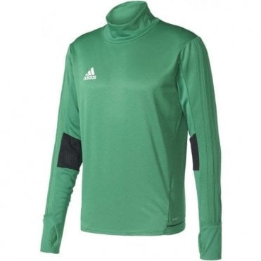 TIRO 17 TRAINING TOP GREEN/WHITE/BLACK
