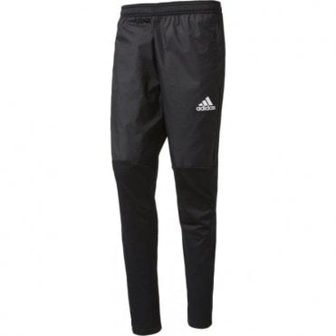 TIRO 17 WARM PANTS BLACK/WHITE