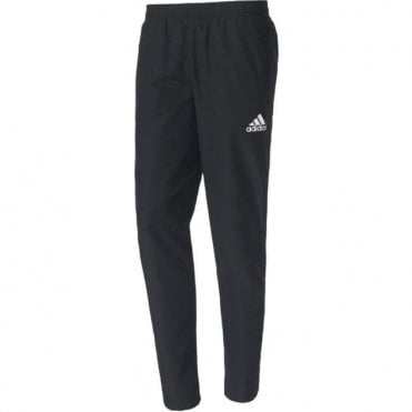 TIRO 17 WOV PANT BLACK/WHITE