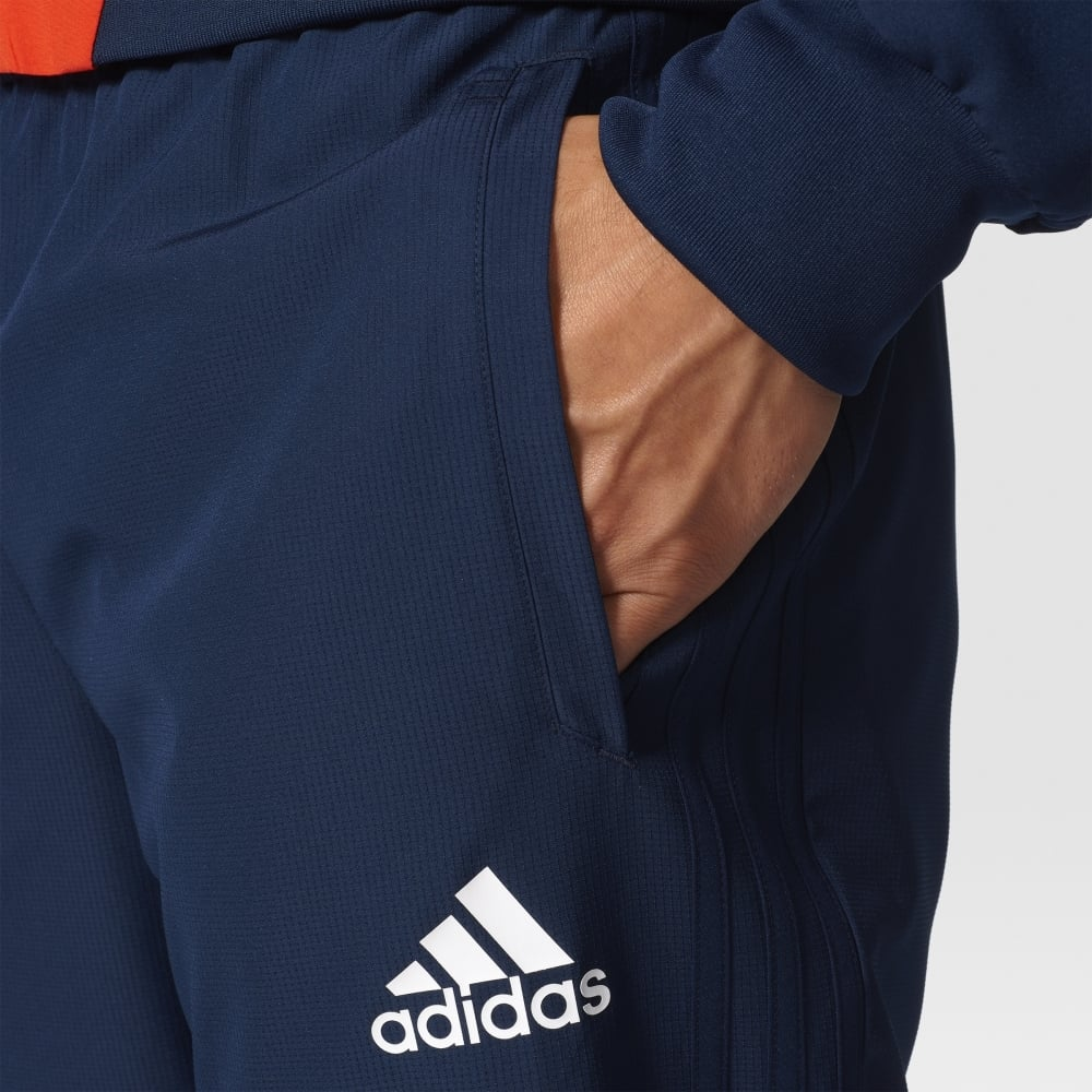 Adidas TIRO 17 WOVEN PANT COLLEGIATE NAVYWHITE