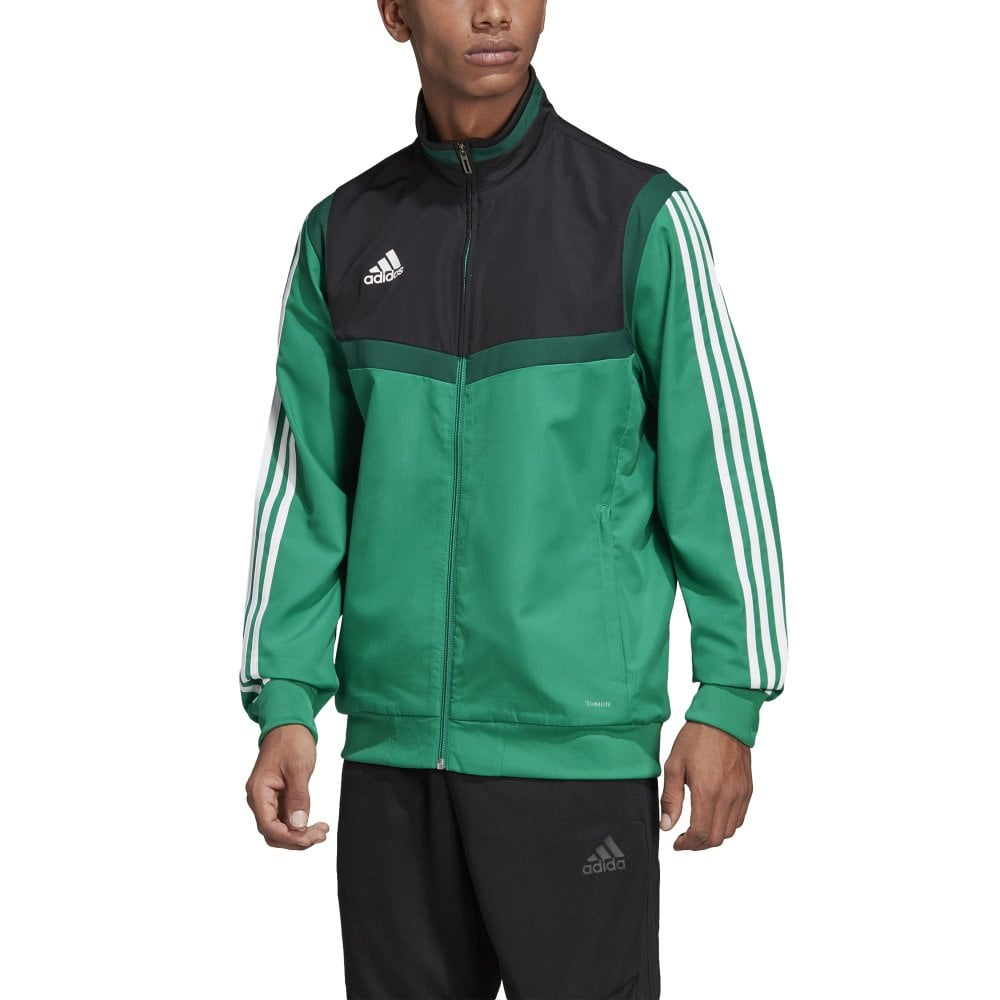 adidas Tiro 19 Training Jacket Green Kids