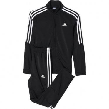 Tiro Boy's Track Suit Black/White