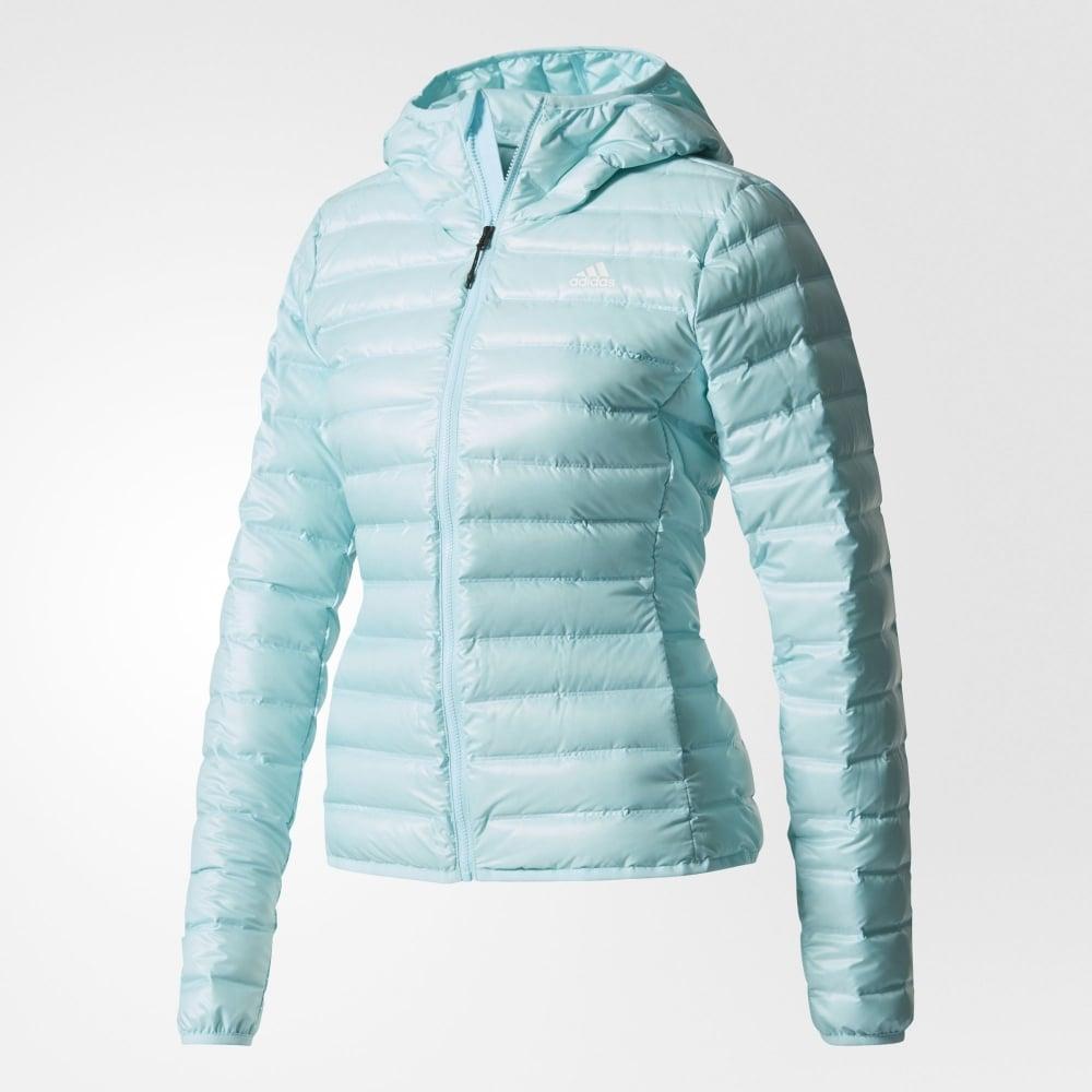 mejores telas acogedor fresco amplia selección de diseños adidas VARILITE Hooded Down | Womens Jacket