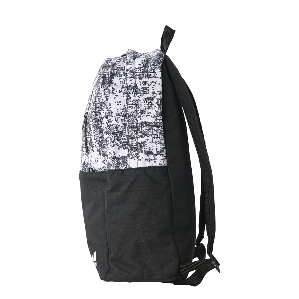 adidas white backpack