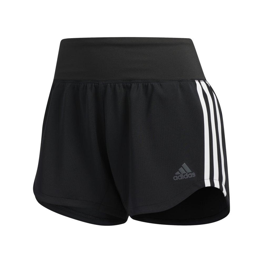 3 Stripe Gym Shorts Black