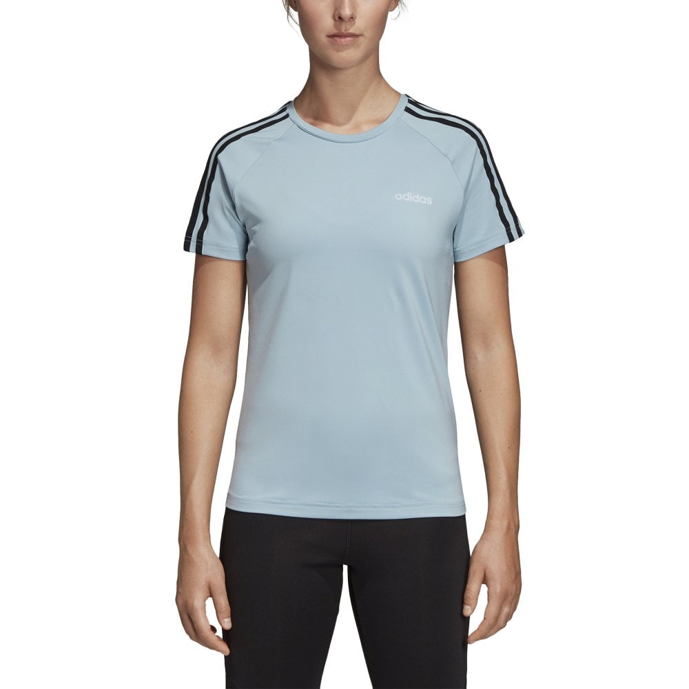 c1e71e4b029d8 Women's Designed 2 Move 3 Stripe Tee Blue
