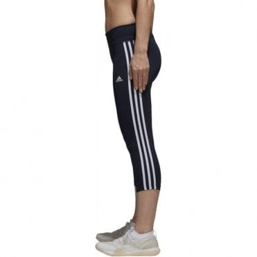 Women's Designed 2 Move 3 Stripes Tight Navy