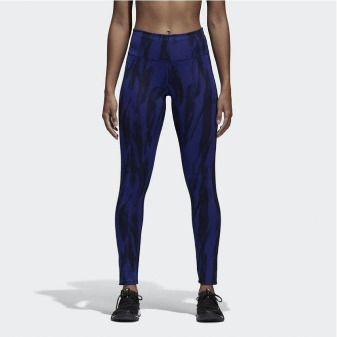 Adidas Women's Designed 2 Move Climalite Printed Tights