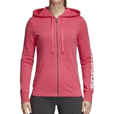 Women's Essentials Linear Full Zip Hoodie