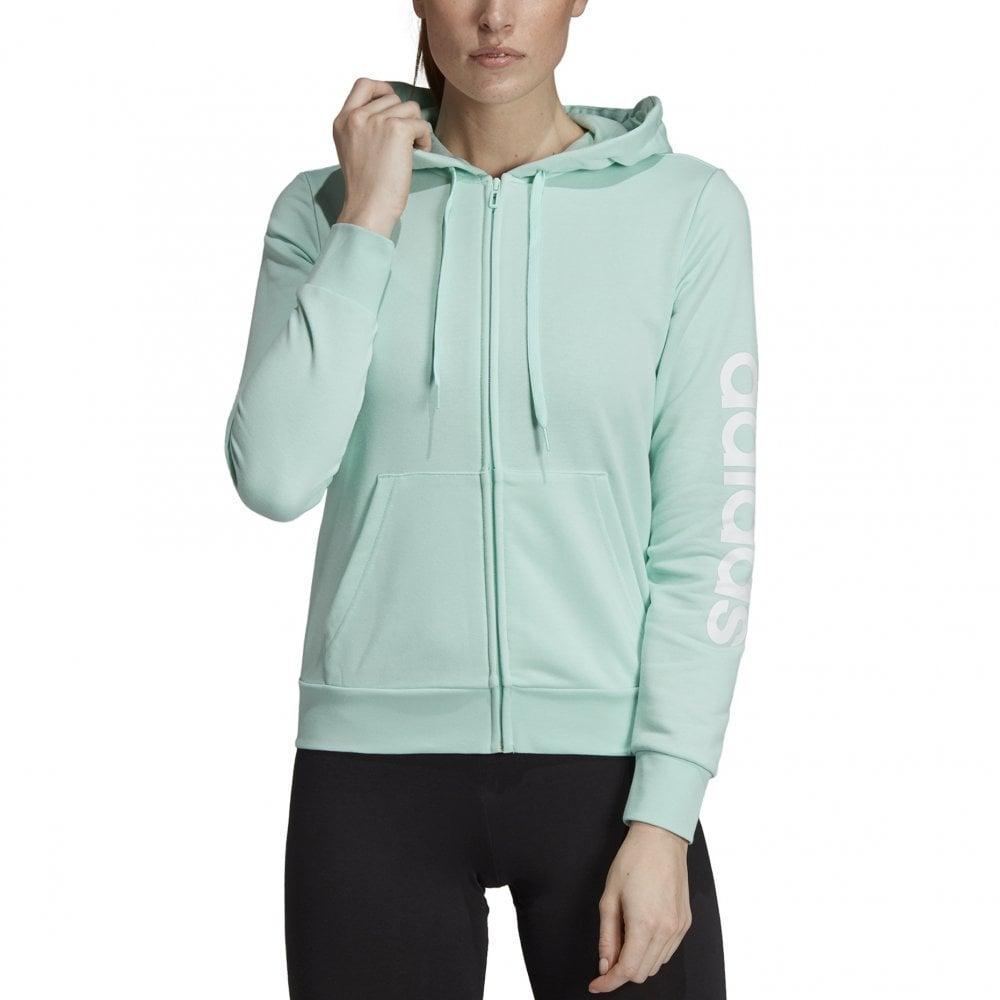 Valle Por favor mira Volcán  adidas Women's Essentials Linear Hoodie Mint   BMC Sports