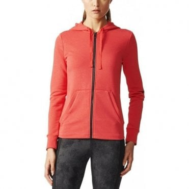 Women's Essentials Linear Hoodie Red