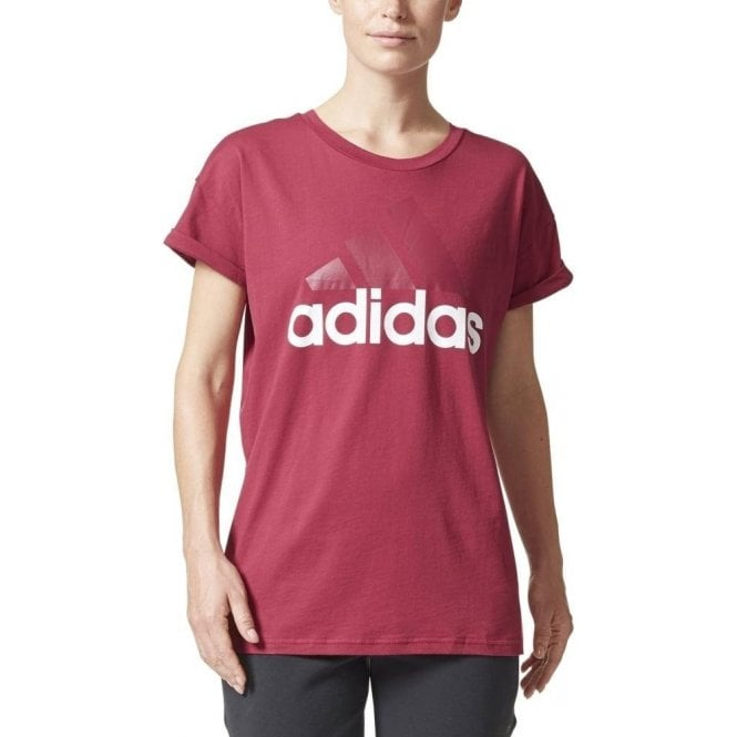 Adidas Women's Essentials Linear Loose Tee