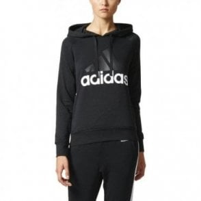 Women's Essentials Linear Pullover Hoodie Black