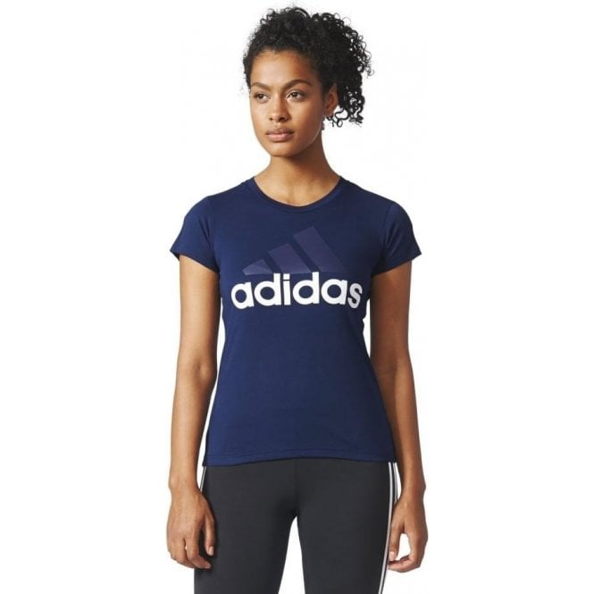 Adidas Womens Essentials Linear Slim Tee