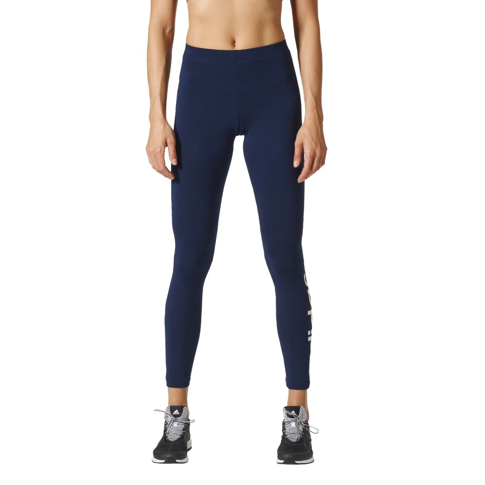 19ecb7813 adidas Women s Essentials Linear Tights Navy