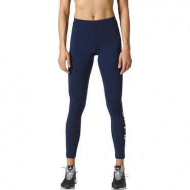 Women's Essentials Linear Tights Navy