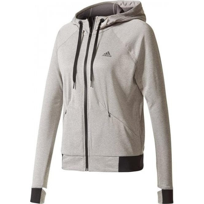 Adidas Women's Performance Full Zip Hoodie