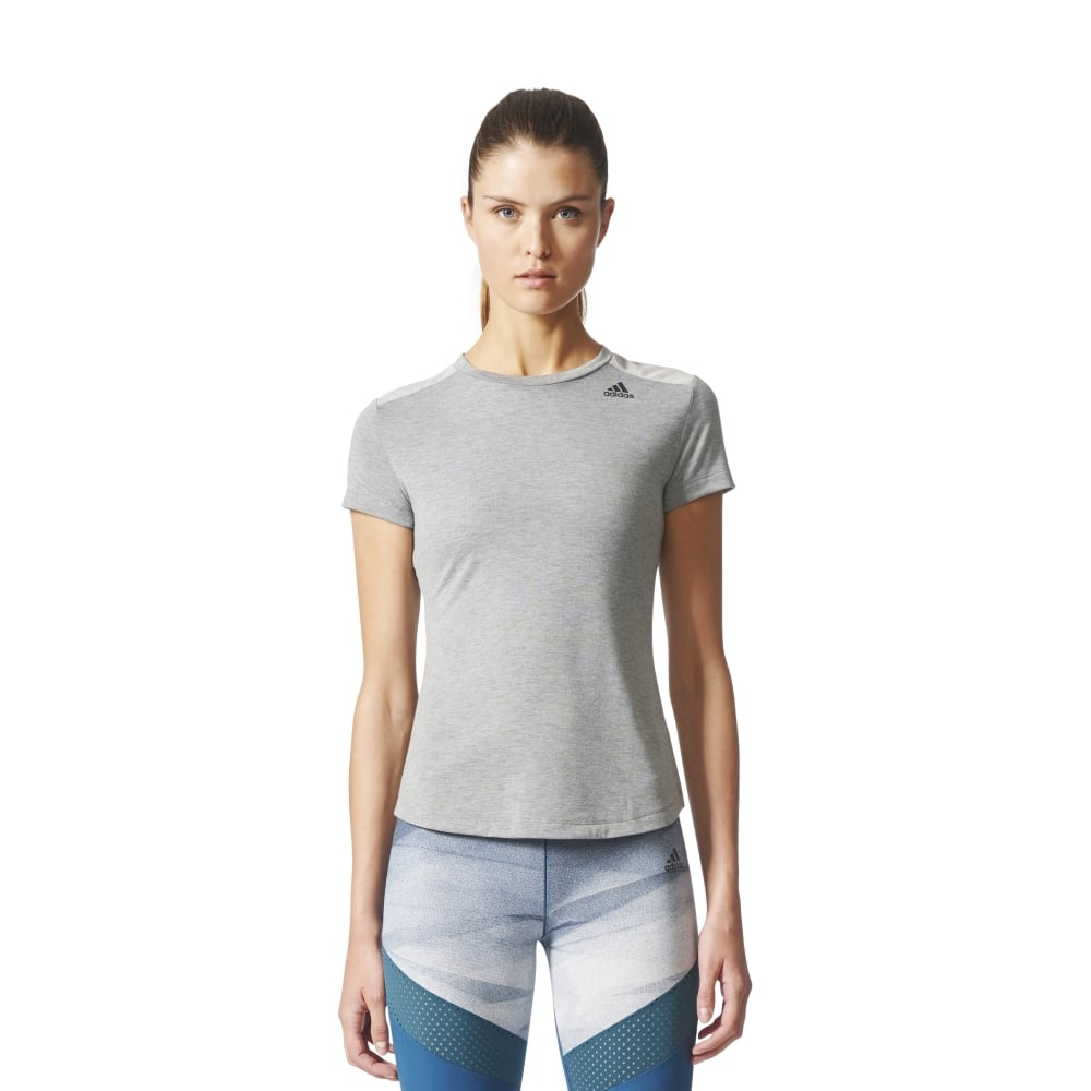 Adidas Prime Tee Mix Womens Fitness Clothing