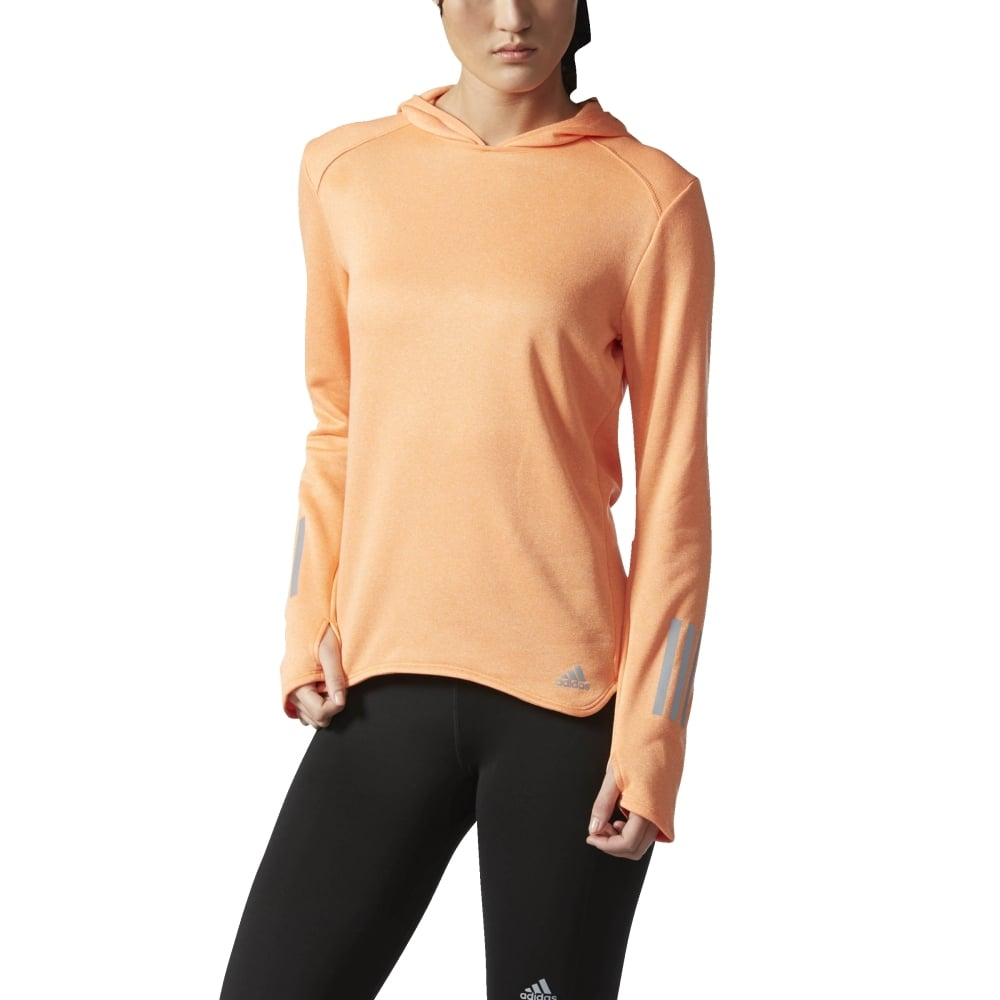 adidas hoodie womens Orange