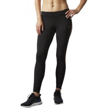 Women's Response Long Tights Black/Orange
