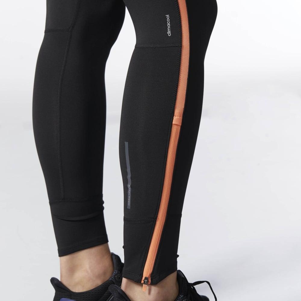 2d63040f10c adidas Women's Response Long Tights Black/Orange