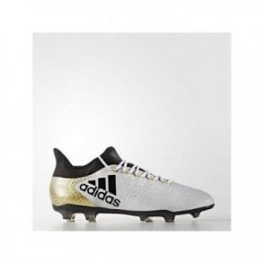 X 16.2 Firm Ground Boots White/Gold