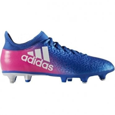 X 16.3 Soft Ground Boots Blue