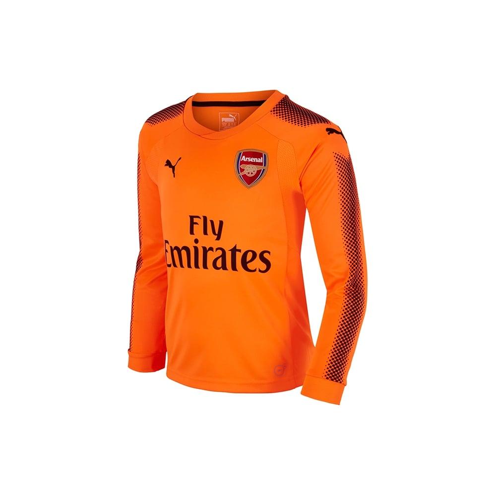 a10cc7fa2 Sale. Arsenal Kids 17 18 Away GK Jersey