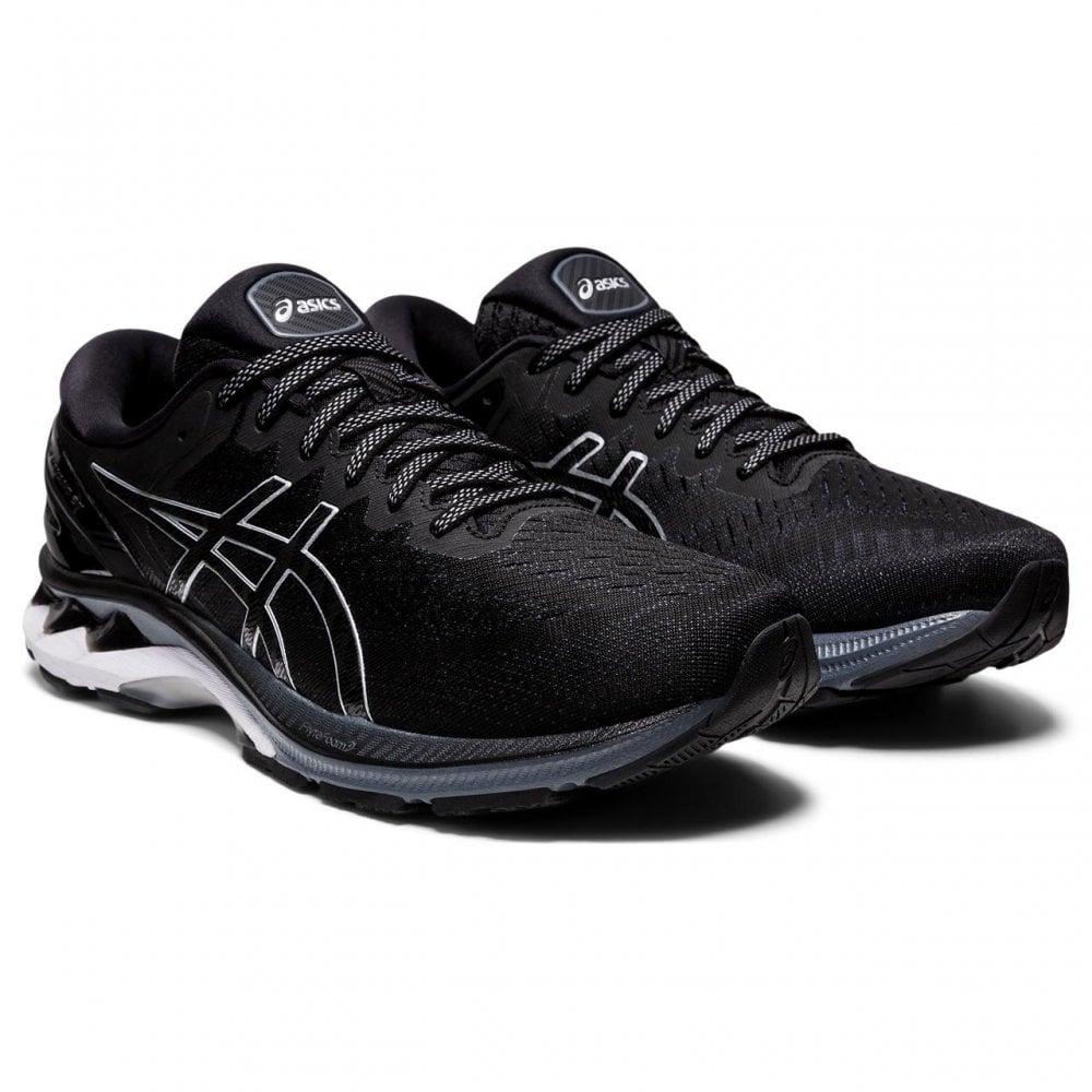 Asics Mens Gel-Kayano 27 Black Running Shoes   BMC Sports