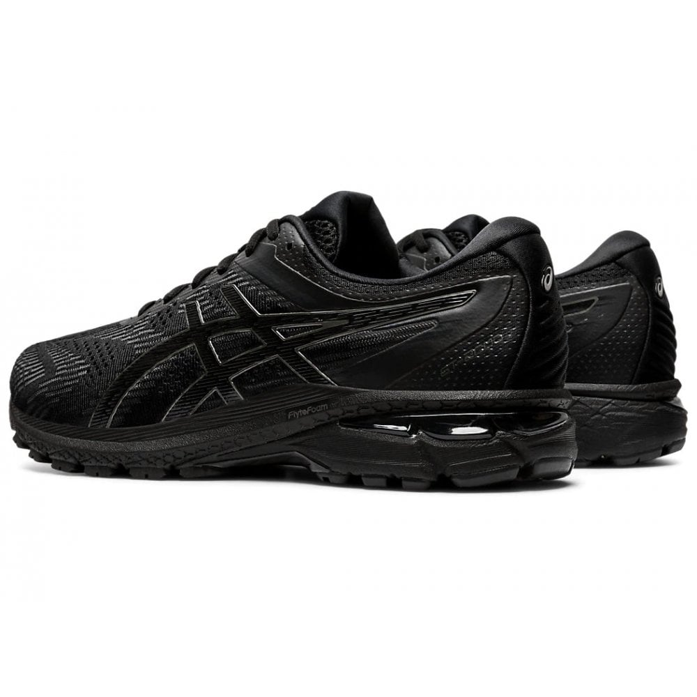 GT-2000 8 Black Running Shoes (Wide Fit