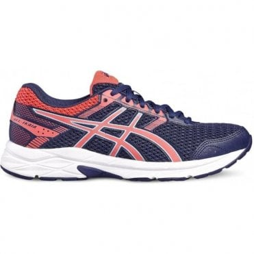 Women's Gel Ikaia Running Shoes Navy/Pink