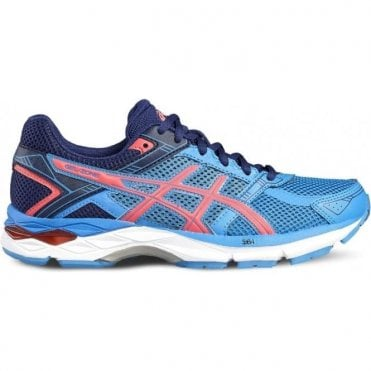 Women's Gel Zone 4 Running Shoes Blue/Pink