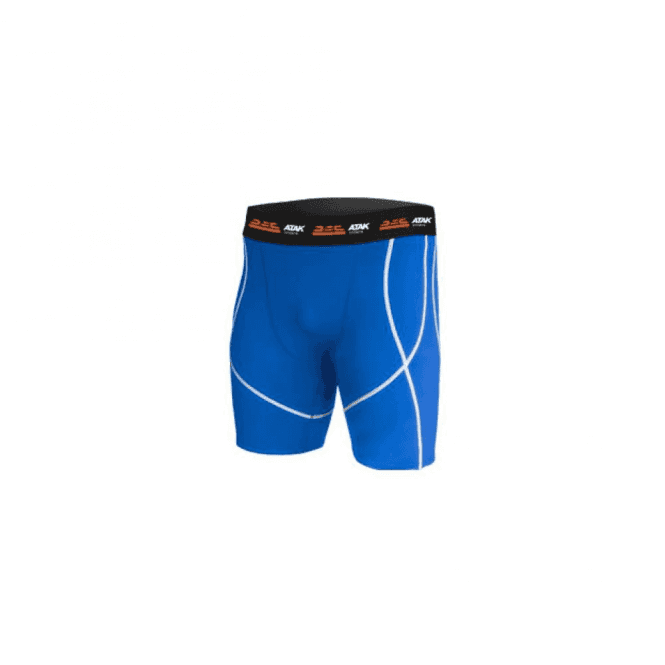 Atak Sports Compression Shorts Blue