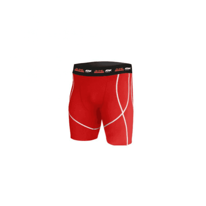 Atak Sports Compression Shorts Red