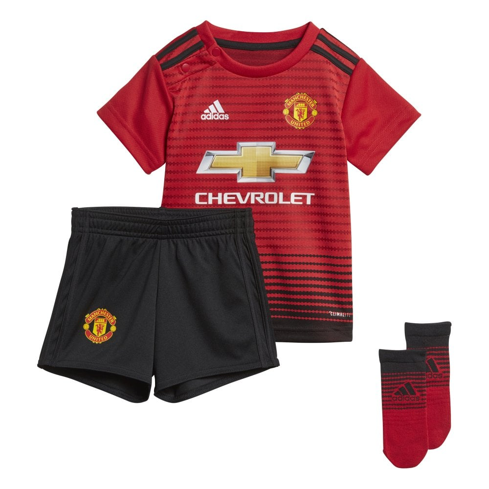 300c95a73c1 adidas Baby Man United Home Kit 18 19