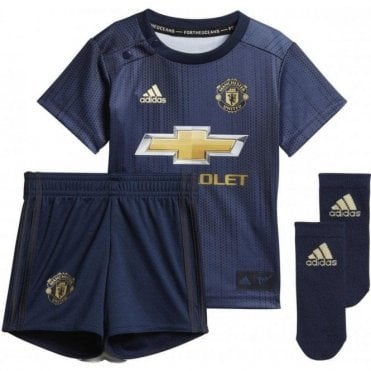 4615afc71 Baby s Manchester United 3rd Mini Kit 18 19