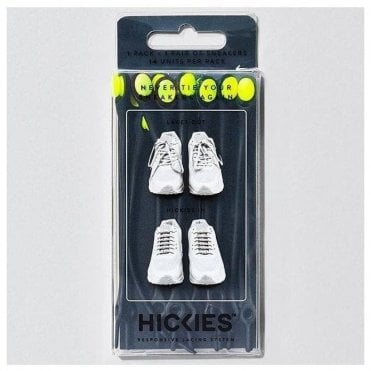 Black/Yellow Elastic Laces