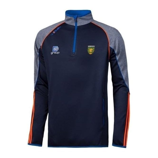 ONEILLS Boys Donegal GAA Dillion 30 Half Zip Squad Top