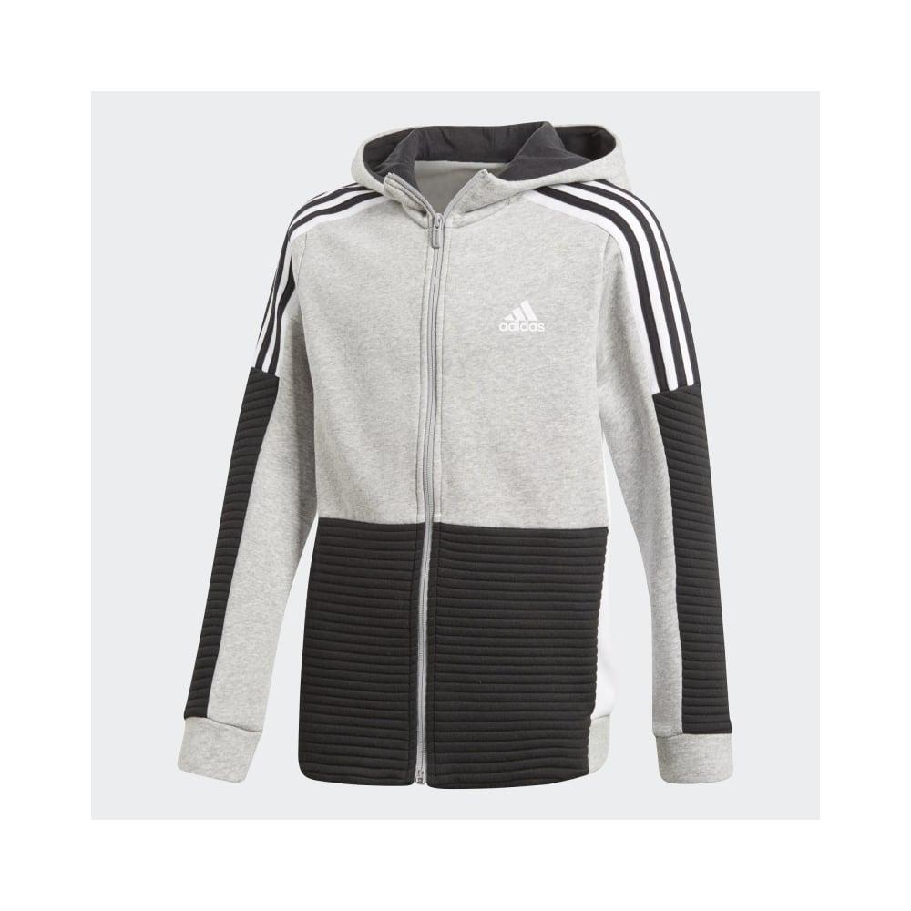 b85bcdb3c7b5 adidas Boy s Sport ID Fleece Full Zip Hoodie