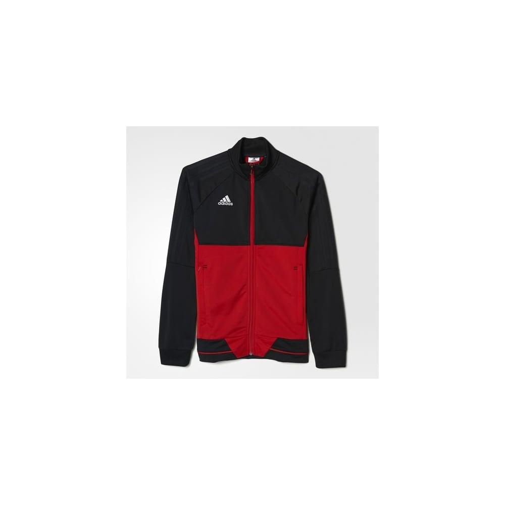d2735baa9 Boys adidas Tiro 17 Training Jacket Red