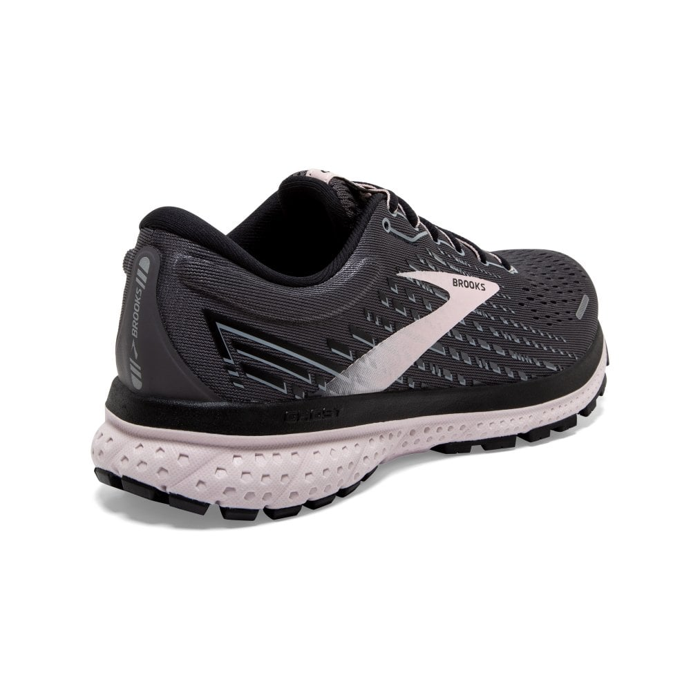 Brooks Womens Ghost 13 Grey (Wide Fit