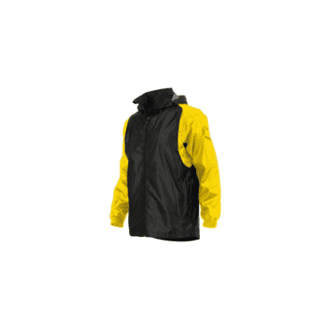 CENTRO WINDBREAKER BLACK/YELL (PRICE BASED ON A MINIMUM BUY OF 6 PIECES)