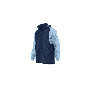 CENTRO WINDBREAKER NAVY/SKY BLUE (PRICE BASED ON A MINIMUM BUY OF 6 PIECES)