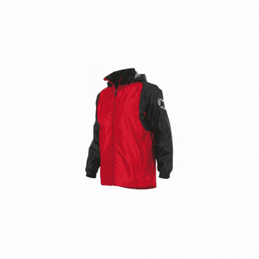 CENTRO WINDBREAKER RED/BLACK (PRICE BASED ON A MINIMUM BUY OF 6 PIECES)