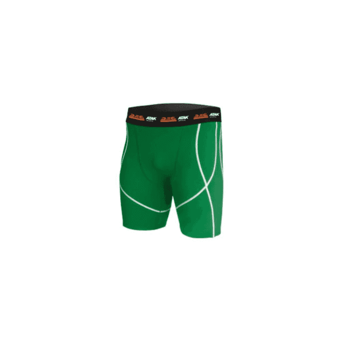 Atak Sports Compression Shorts Green
