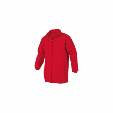 CORPORATE ALL WEATHER JACKET FULL ZIP RED