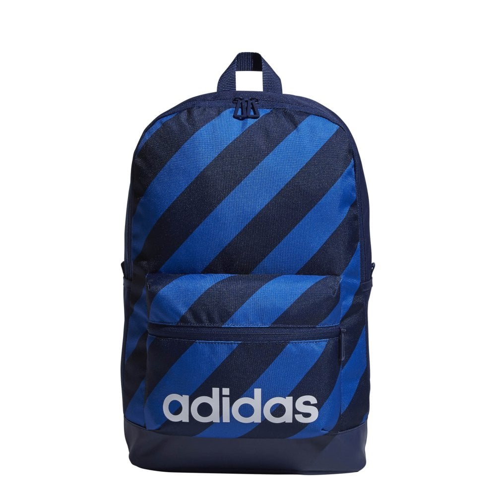 bd6bb4355ec adidas Daily Graphic Backpack Blue   BMC Sports